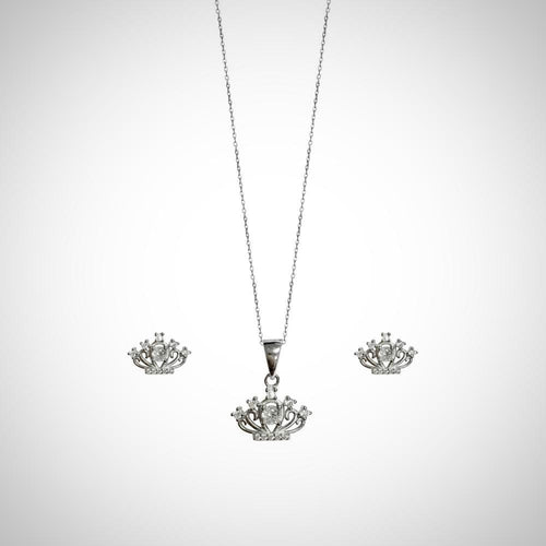 CROWN- STERLING SILVER SET2110
