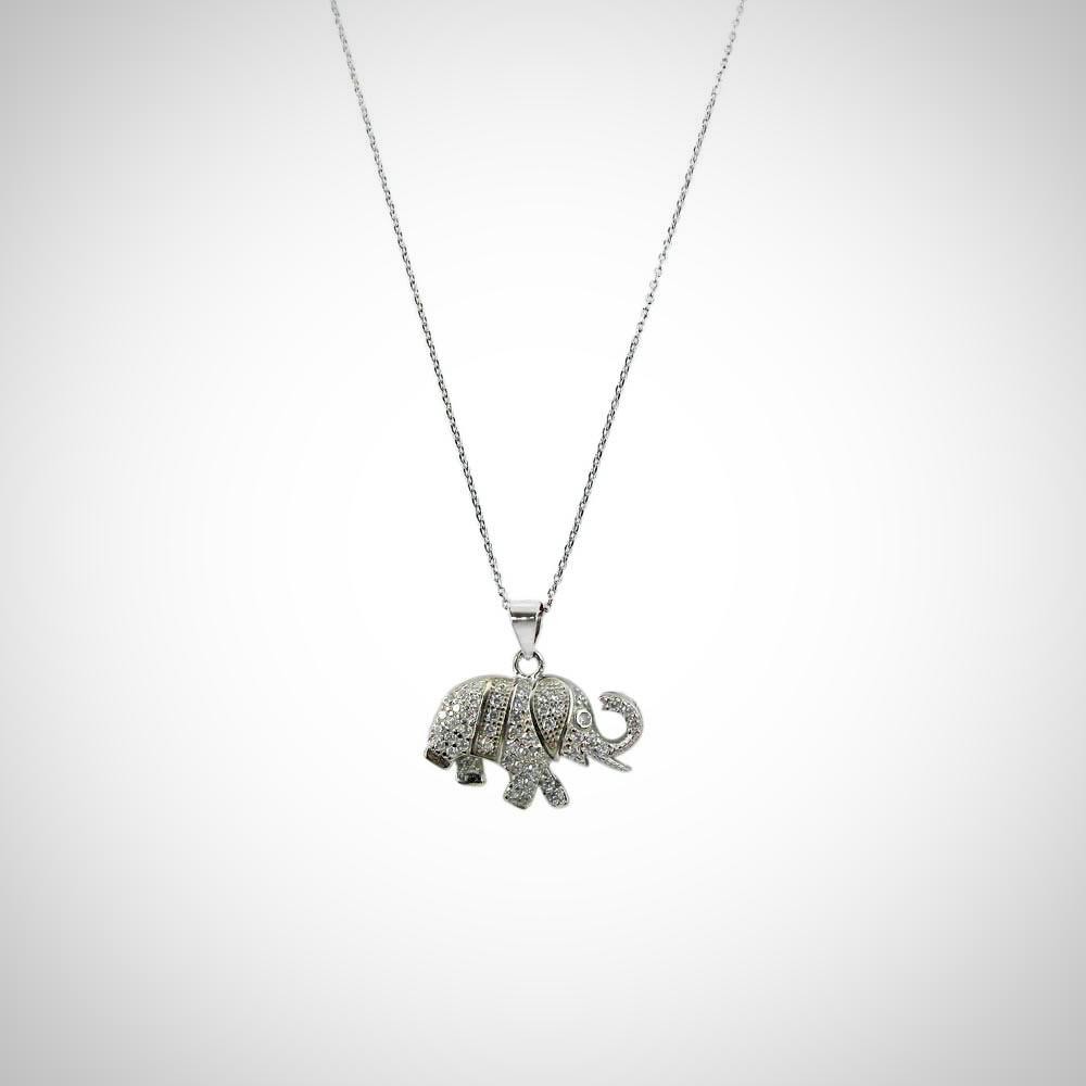ELEPHANT - STERLING SILVER SET2097