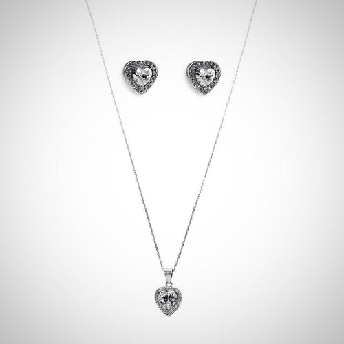 TRINITY - STERLING SILVER SET2086