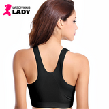 Padded Push Up Fitness Bra with Front Zipper - Lascivious Lady Online Store