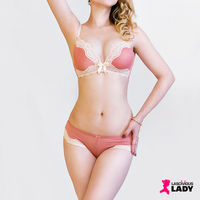 Pretty Wire Free Lace Bra & Sheer Panty Set | Lascivious Lady Online Store
