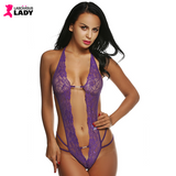 Sexy Hollow Front & Sides Bodysuit - Lascivious Lady Online Store