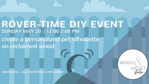 indigo & violet studio chicago - crafts with rover time dog walking