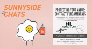 Sunnyside Video Chats - Contract Fundamentals - October 8 Virtual Event