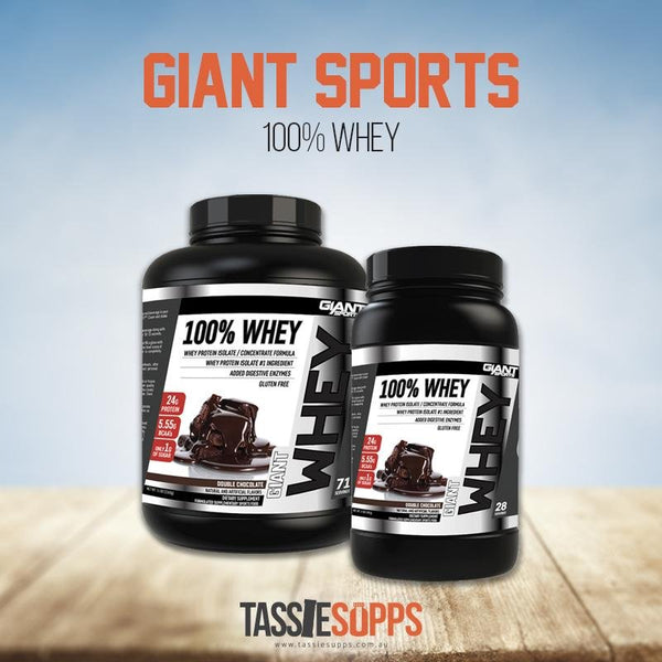 100% WHEY PROTEIN | GIANT SPORTS - Tassie Supps - PROTEIN - DAIRY BASED