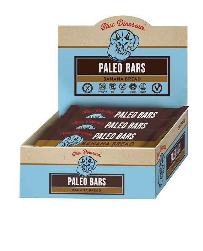 1x Banana Bread Paleo Bar | BLUE DINOSAUR - Tassie Supps - Snacks