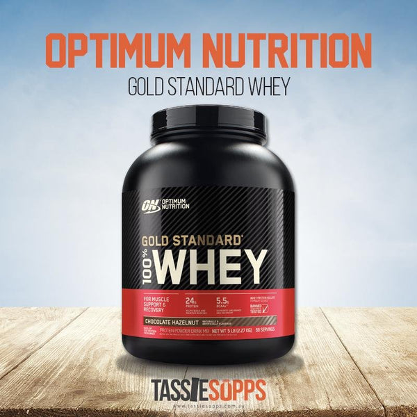 2.27kg / 5lb 100% WHEY GOLD STANDARD | OPTIMUM NUTRITION - Tassie Supps - PROTEIN - DAIRY BASED