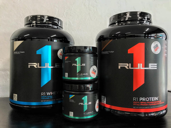 FREE 15SRV R1 LEAN FAT BURNER WITH ANY 70SRV RULE 1 WHEY OR PROTEIN | RULE 1