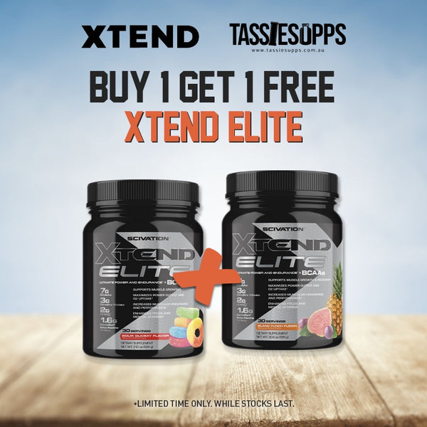BOGO FREE - ELITE BCAA | XTEND (SCIVATION)