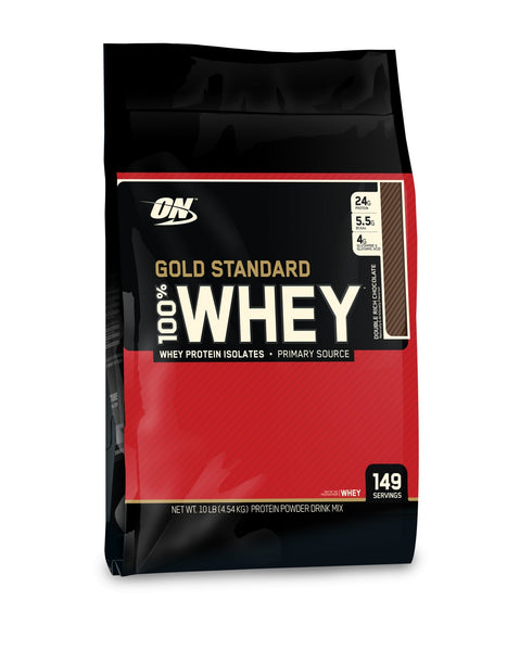 4.55kg / 10lb 100% WHEY GOLD STANDARD | OPTIMUM NUTRITION - Tassie Supps - PROTEIN - DAIRY BASED