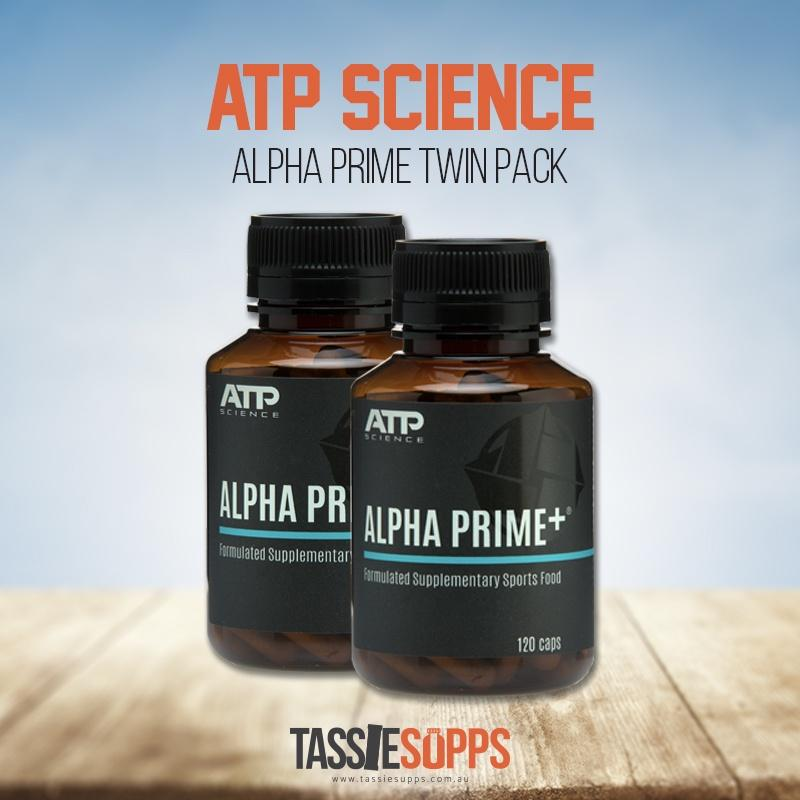 ALPHA PRIME - TWIN PACK | ATP SCIENCE - Tassie Supps - HORMONE SUPPLEMENTS