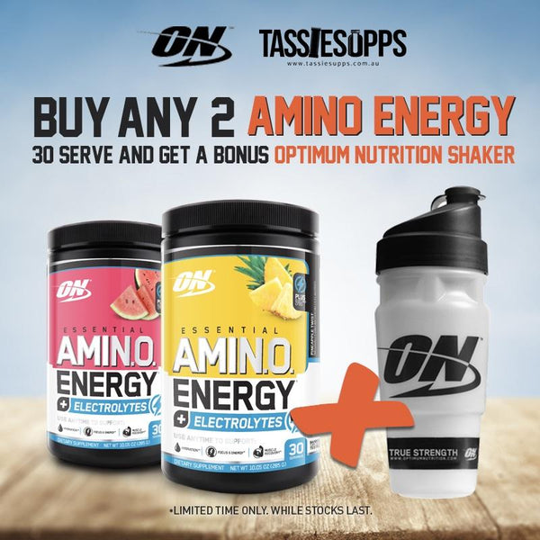 AMINO ENERGY + ELECTROLYTES | OPTIMUM NUTRITION - Tassie Supps - AMINO's
