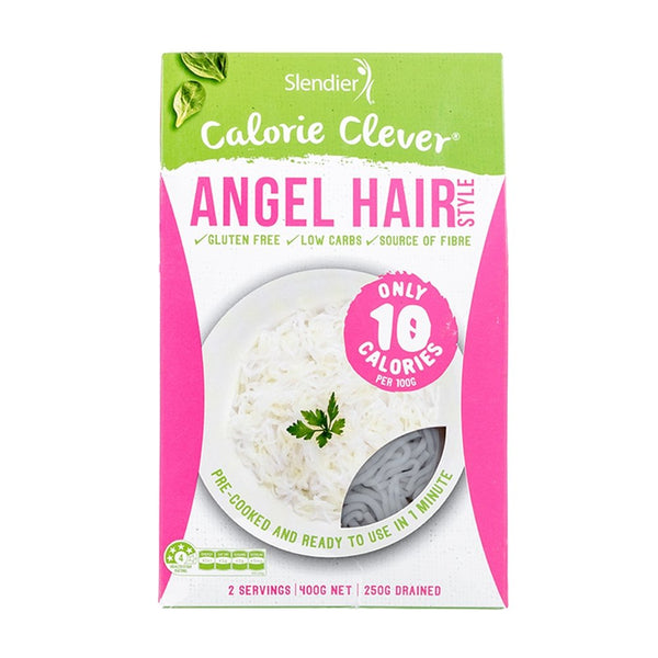 ANGEL HAIR - PASTA ( CALORIE CLEVER ) | SLENDIER SLIM - Tassie Supps - PANTRY