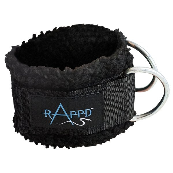 ANKLE STRAP with D RINGS | RAPPD - Tassie Supps - Lifting Accessories