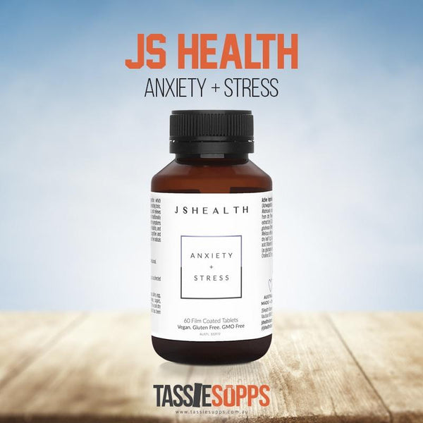 ANXIETY + STRESS | JS HEALTH - Tassie Supps - Vitamin's | Tablets