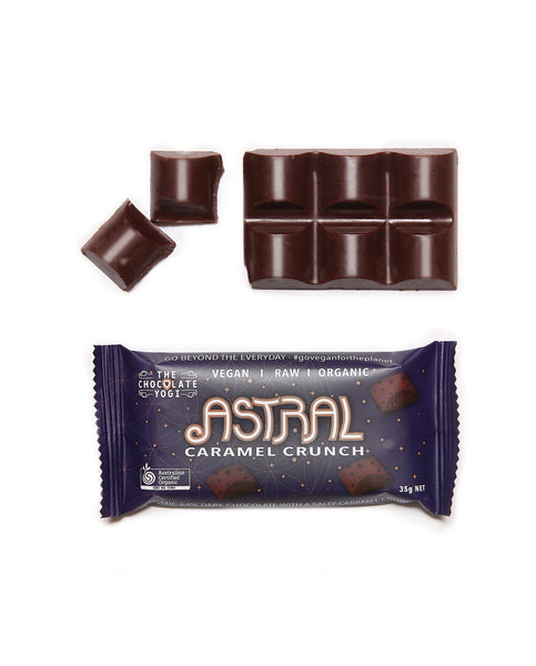 Astral Dark Caramel Choc by THE CHOCOLATE YOGI - Tassie Supps - Snacks