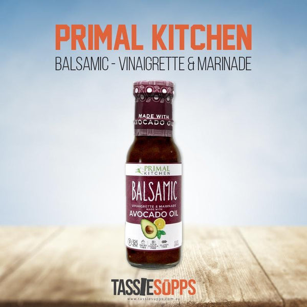 BALSAMIC VINAIGRETTE & MARINADE | PRIMAL KITCHEN - Tassie Supps - PANTRY