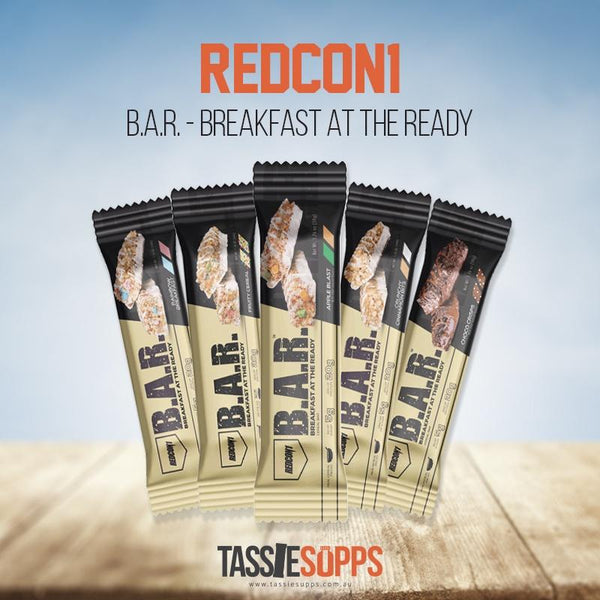B.A.R. BREAKFAST AT THE READY® - PROTEIN FUEL BAR | REDCON1 - Tassie Supps - Snacks