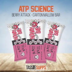 BERRY ATTACK CHOC CHIP - CARTON - NOWAY MALLOW PROTEIN BAR | ATP SCIENCE - Tassie Supps - Snacks