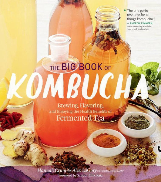 BIG BOOK OF KOMBUCHA - Tassie Supps - Book