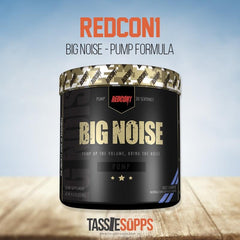 BIG NOISE - STIM FREE PRE WORKOUT | REDCON1 - Tassie Supps - Pre-Workout
