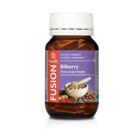 Bilberry | FUSION HEALTH - Tassie Supps - Vitamin's | Tablets