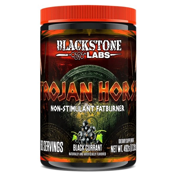 Black Current TROJAN HORSE by BLACKSTONE LABS - Tassie Supps - Fat Burner