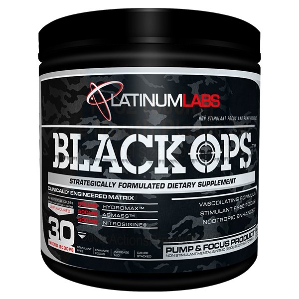 BLACK OPS | PLATINUM LABS - Tassie Supps - Pre-Workout