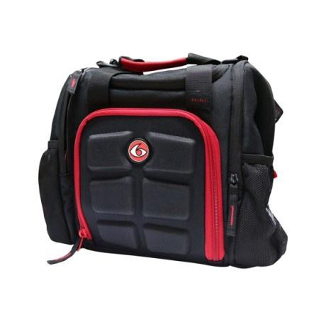 BLACK/RED | INNOVATOR MINI-STEALTH | SIX PACK BAGS - Tassie Supps - Apparel