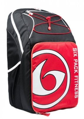 BLACK/RED/WHITE | PRODIGY PURSUIT BACKPACK 500 | SIX PACK BAGS - Tassie Supps - Apparel