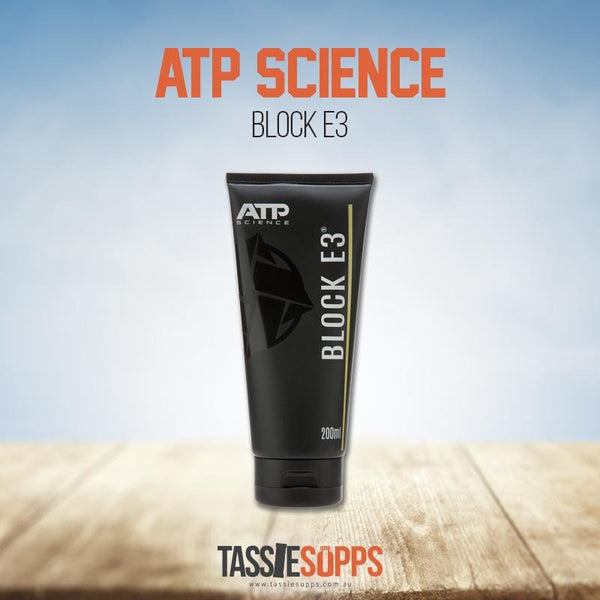 Block E3 Cream | ATP Science - Tassie Supps - Nutrition