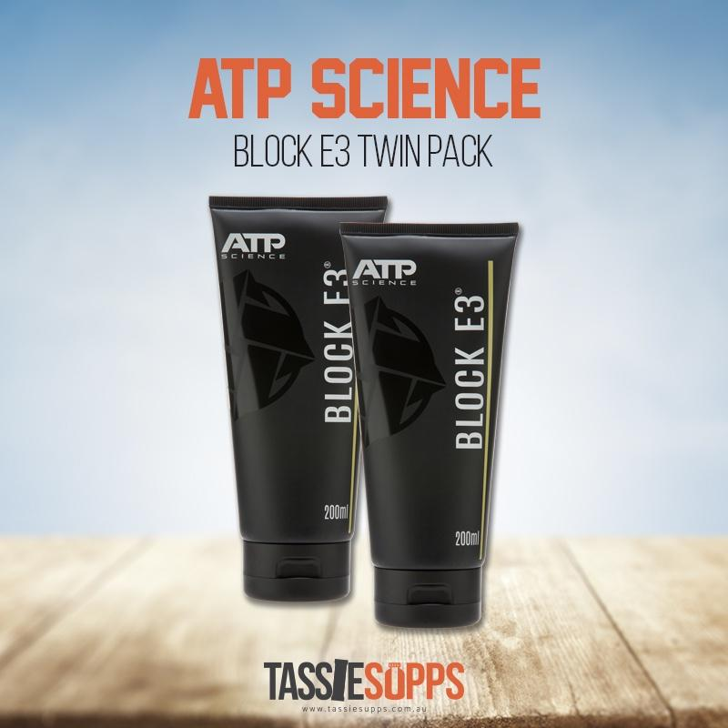 BLOCK E3 CREAM - TWIN PACK | ATP SCIENCE - Tassie Supps - HORMONE SUPPLEMENTS