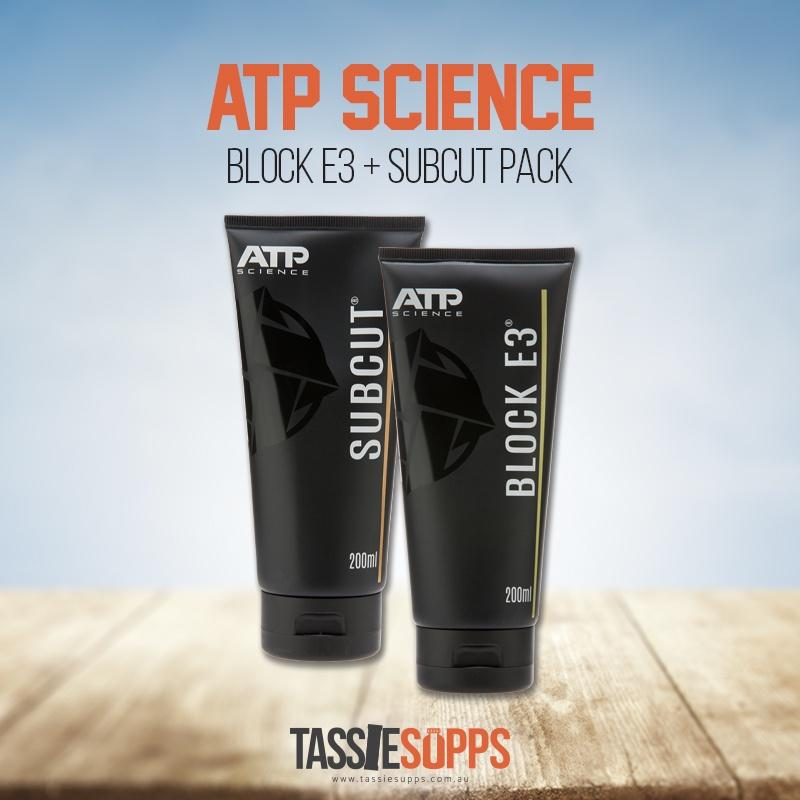 BLOCK E3 + SUBCUT PACK | ATP SCIENCE - Tassie Supps - HORMONE SUPPLEMENTS