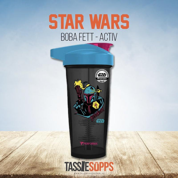 BOBA FETT - ACTIV SHAKER CUP - STAR WARS | PERFECT SHAKER - Tassie Supps - Shakers / Bottles