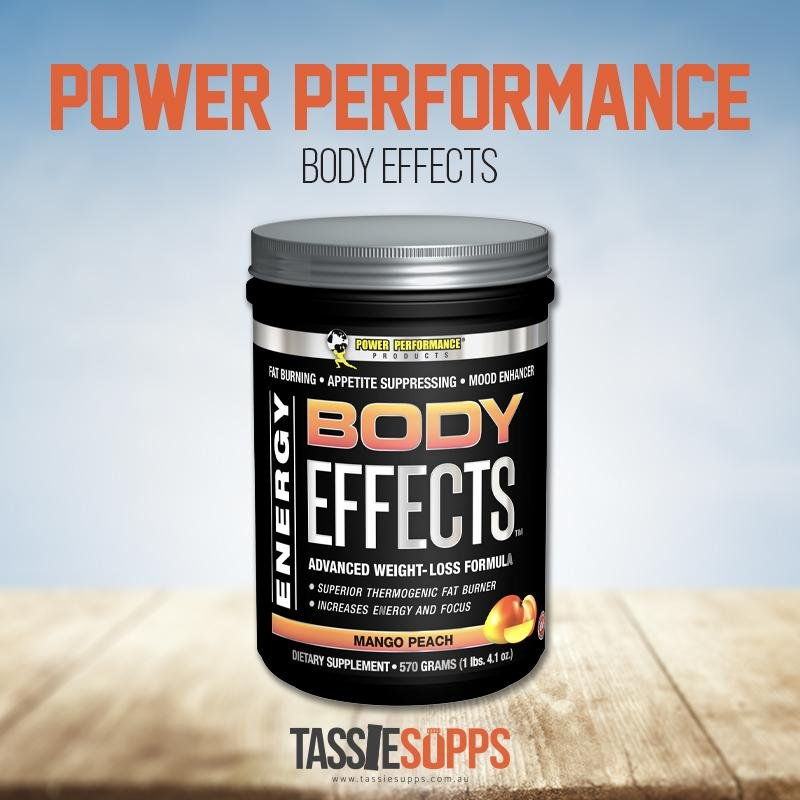 BODY EFFECTS - FAT BURNER | POWER PERFORMANCE PRODUCTS - Tassie Supps - FAT BURNERS / DETOX / WEIGHT LOSS