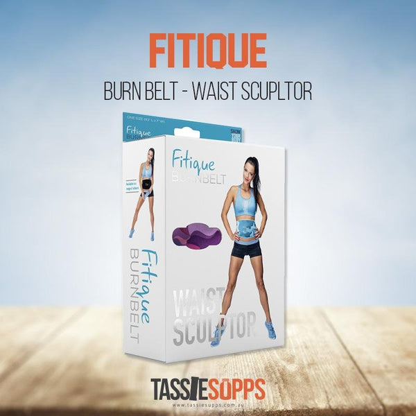 BURN BELT - WAIST SCULPTOR | FITIQUE - Tassie Supps - Lifting Accessories