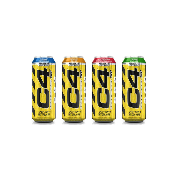 C4 473ML - CARBONATED ON-THE-GO | CELLUCOR - Tassie Supps - Ready To Drink (RTD)