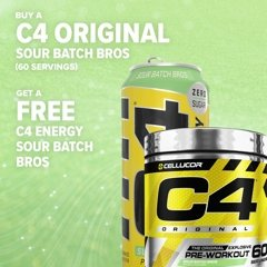 C4 ID - ORIGINAL - PRE WORKOUT | CELLUCOR - Tassie Supps - Pre-Workout