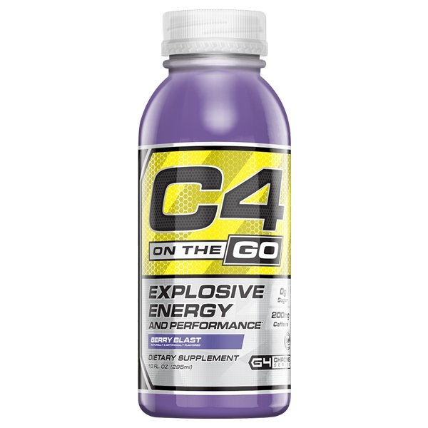 C4 ON-THE-GO RTD | CELLUCOR - Tassie Supps - Ready To Drink (RTD)