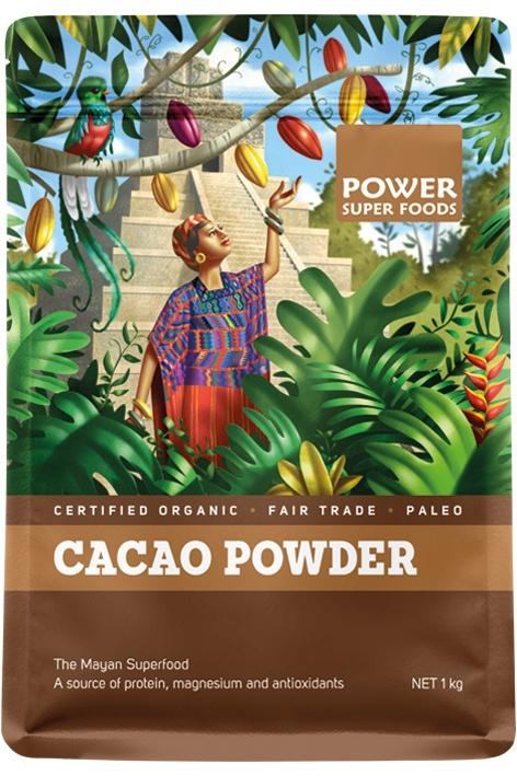 CACAO POWDER | POWER SUPERFOODS - Tassie Supps - PANTRY