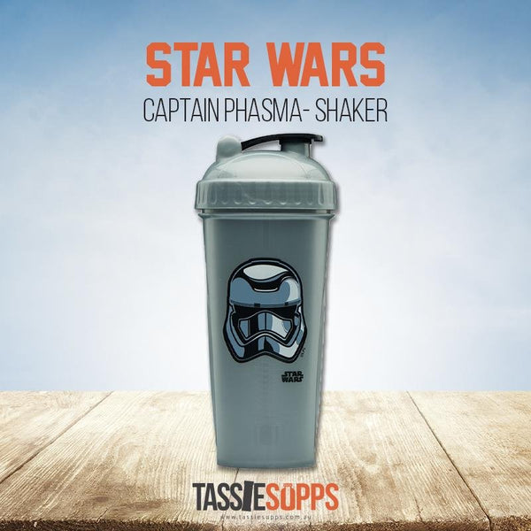 CAPTAIN PHASMA - SHAKER CUP - STAR WARS | PERFECT SHAKER - Tassie Supps - Shakers / Bottles