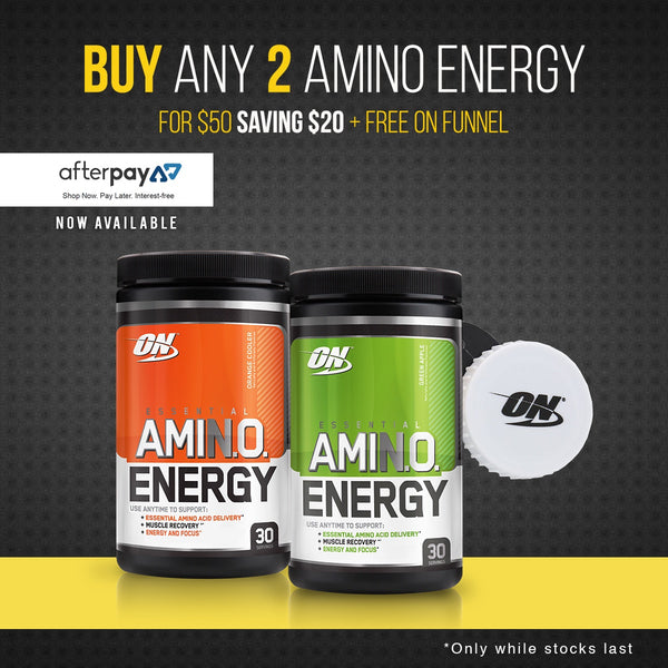 2 FOR 50 AMINO ENERGY - ESSENTIAL AMINOS | OPTIMUM NUTRITION