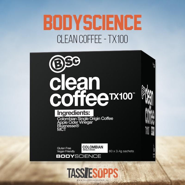 CLEAN COFFEE - TX 100 | BODY SCIENCE - Tassie Supps - KETO