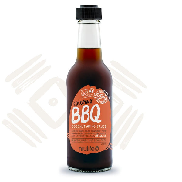 Cocomino | BBQ Coconut Amino Sauce | 250ml Bottle | NIULIFE - Tassie Supps - PANTRY