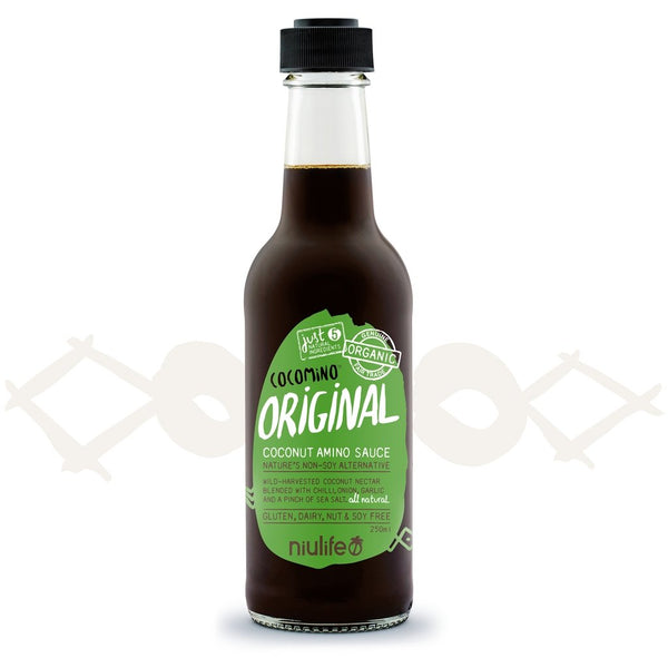 Cocomino | Original Coconut Amino Sauce | 250ml Bottle | NIULIFE - Tassie Supps - PANTRY