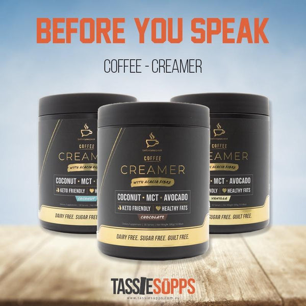 COFFEE - CREAMER | BEFORE YOU SPEAK - Tassie Supps - KETO