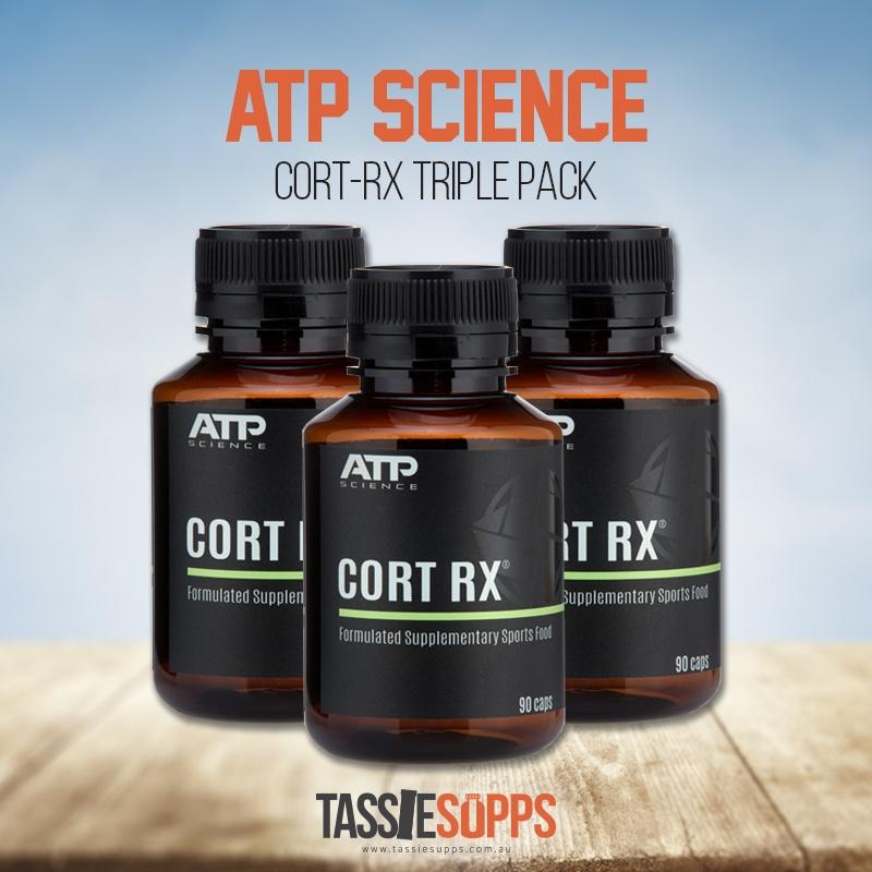 CORT RX - TRI PACK | ATP SCIENCE - Tassie Supps - HORMONE SUPPLEMENTS