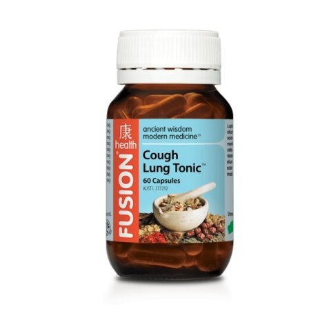 COUGH AND LUNG TONIC | FUSION HEALTH - Tassie Supps - Vitamin's | Tablets