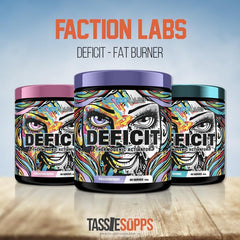 DEFICIT - THERMOGENIC ACTIVATOR | FACTIONS LABS - Tassie Supps - FAT BURNERS / DETOX / WEIGHT LOSS