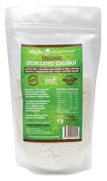DESICATED COCONUT | NIULIFE - Tassie Supps - PANTRY